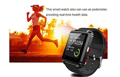 Amazingforless Black Bluetooth Smart Wrist Watch