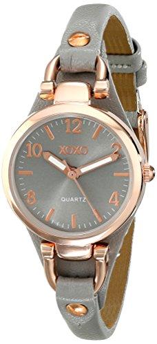 XOXO Women's XO3400 Round Gray Watch