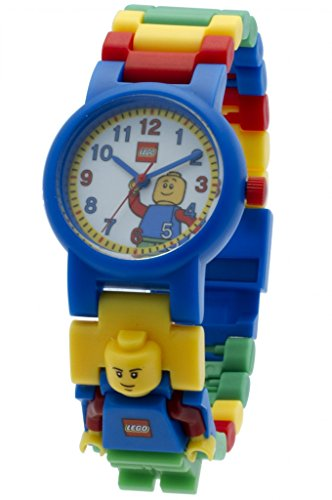LEGO Kids' 9005732 Watch with Classic Minifigure Link