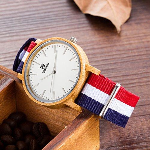 men wood watch