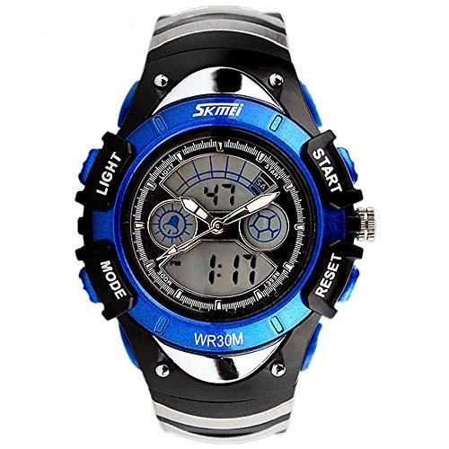 ALPS Kids LED Digital Boys' Girls Waterproof Watches Blue