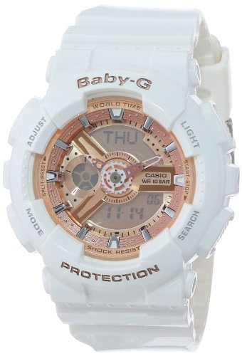 Baby g watches - Casio Women's BA-110-7A1CR Pink Digital Watch