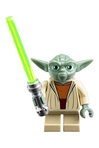 LEGO Kids' 8020295 Star Wars Yoda Watch with Link Bracelet and Minifigure
