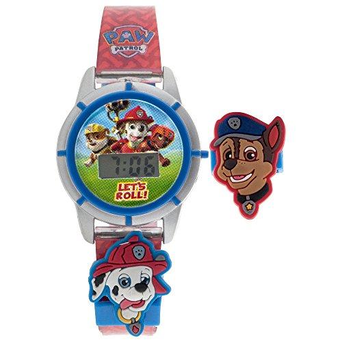 Paw Patrol LCD Digital Watch Interchangeable Sliders