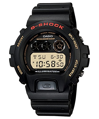 G-Shock DW6900-1V Men's Black Resin Sport Watch