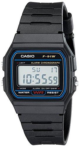 Casio F91W-1 Classic Resin Strap Digital Sport Wa...