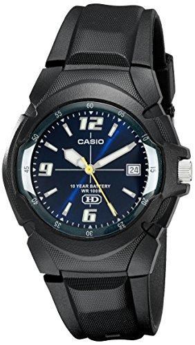CASIO Men's MW600F-2AV Sport Watch with Black Res...