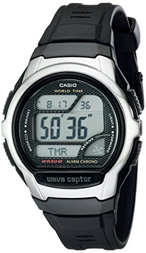 Casio Men's WV58A-1AVCR Waveceptor Atomic Digital...