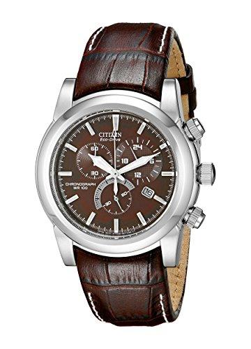 Citizen Men's Eco-Drive Chronograph Watch with Da...