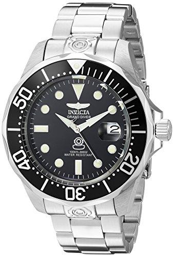 Invicta Men's 3044 Stainless Steel Grand Diver Au...
