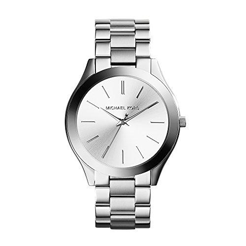 Michael Kors Women's Runway Silver-Tone Watch MK3...