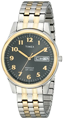 Timex Men's T26481 Charles Street Two-Tone Expans...