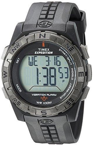 Timex Men's T49851 Expedition Vibration Alarm Bla...
