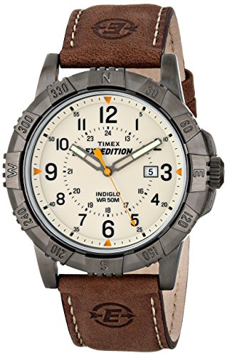 Timex Men's T49990 Expedition Rugged Metal Brown/...