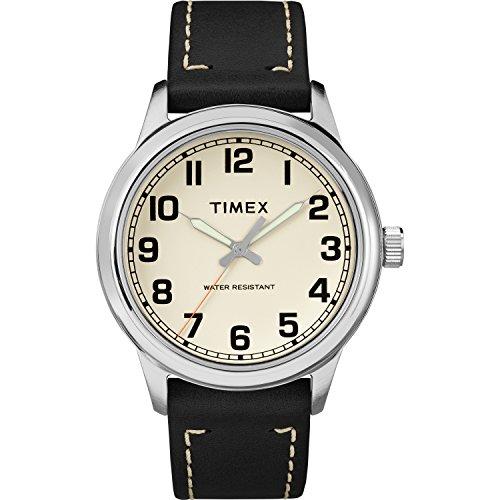 Timex Men's TW2R82000 New England Black/Natural L...