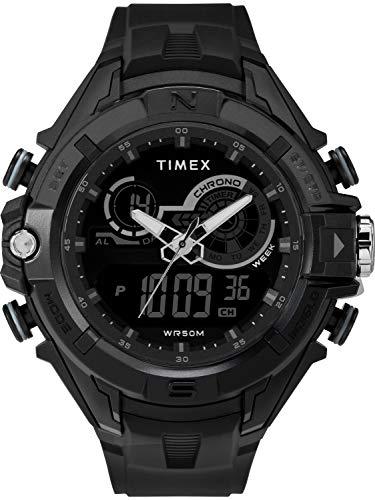Timex Men's TW5M23300 DGTL 47mm Bold Combo Black/...