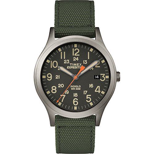 Timex Unisex TW4B13900 Expedition Scout 36 Green/...