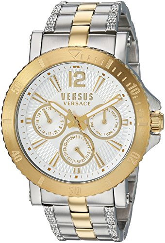 Versus by Versace Men's 'STEENBERG' Quartz Gold-T...