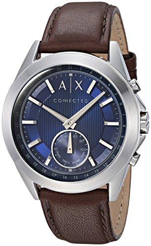 Armani Exchange Men's Hybrid Smartwatch, Black Si