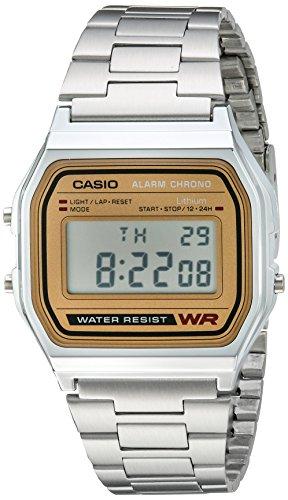 Casio Men's A158WEA-9CF Casual Classic Digital Go...