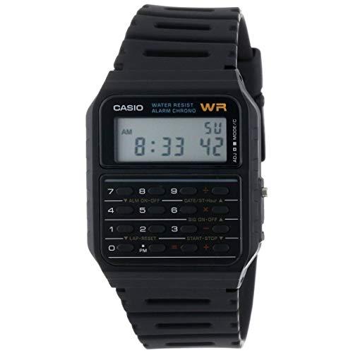 Casio Men's CA53W-1 Calculator Watch