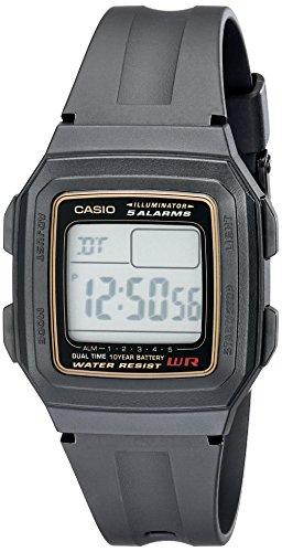 Casio Men's F201WA-9A Multi-Function Alarm Sports...