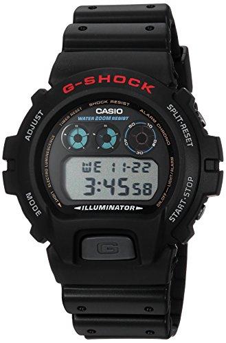 Casio Men's G-Shock DW6900-1V Black Resin Sport W...