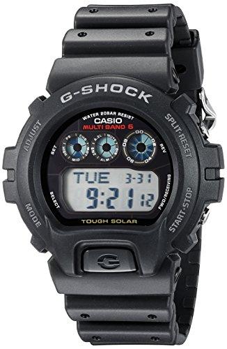Casio Men's G-Shock GW6900-1 Tough Solar Black Re...