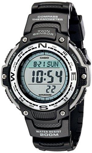 Casio Men's SGW100-1V Twin Sensor Digital Black W...