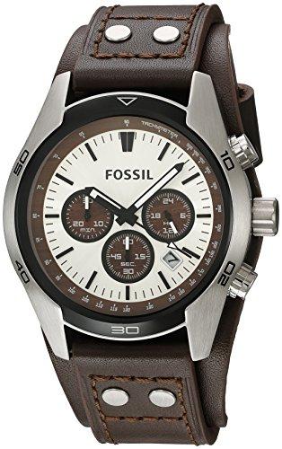 Fossil Men's 'Sport Cuff' Quartz Stainless Steel ...