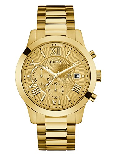 GUESS Men's Stainless Steel Multi-Function Casual...