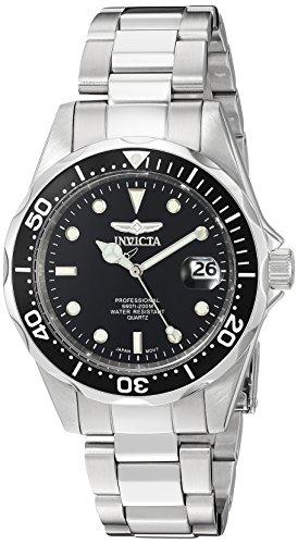 Invicta Men's 'Pro Diver' Quartz Stainless Steel ...