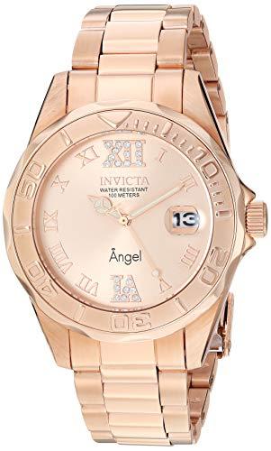 Invicta Women's 14398 Angel Analog Swiss-Quartz R...