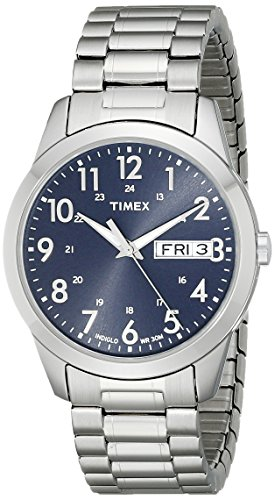 Timex Men's T2M933 South Street Sport Blue/Silver...