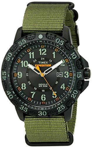 Timex Men's TW4B03600 Expedition Gallatin Green/B...