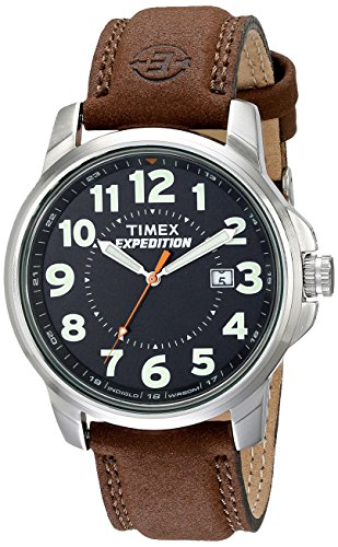 Timex T44921  Men's Expedition Metal Field Brown ...