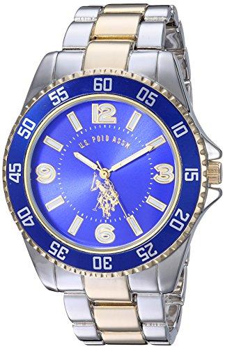 U.S. Polo Assn. Men's Two-Toned, Royal Blue Dial,...