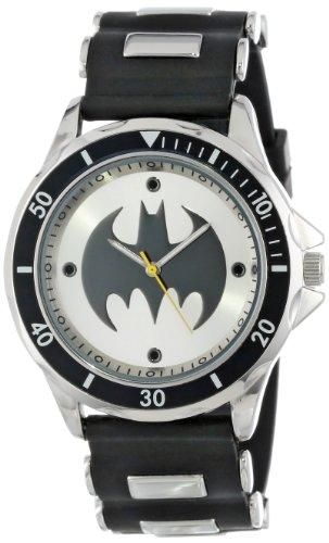 Batman Men's BAT9062 Analog Watch With Black Rubb...