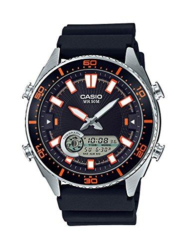 Casio Men's 'Ana-Digi' Quartz Metal and Resin Cas...
