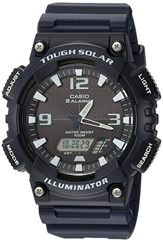 Casio Men's AQ-S810W-2A2VCF Tough Solar Analog-Di...