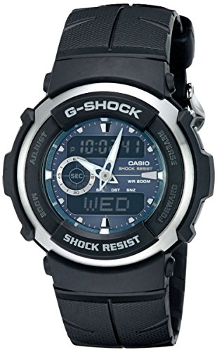 Casio Men's G-Shock G300-3AV Shock Resistant Blac...