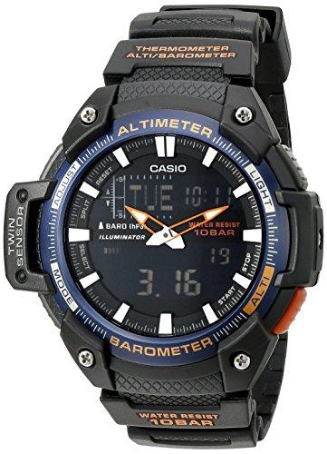 Casio Men's SGW-450H-2BCF Twin Sensor Analog-Digi...