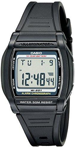Casio Men's W201-1AV Chronograph Water Resistant ...