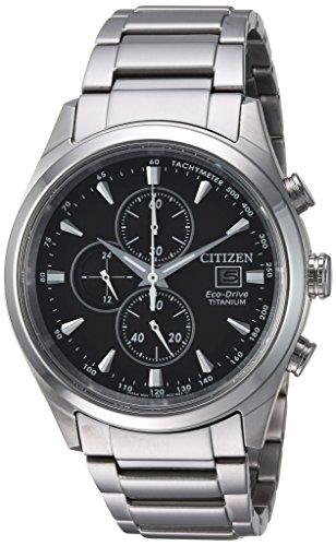 Citizen Men's Silver-Toned 'Eco-Drive' Quartz Tit...