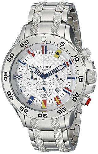 Nautica Men's N20503G NST Stainless Steel Watch