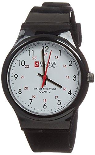 Prestige Medical Student Scrub Watch, Black, 1.65...