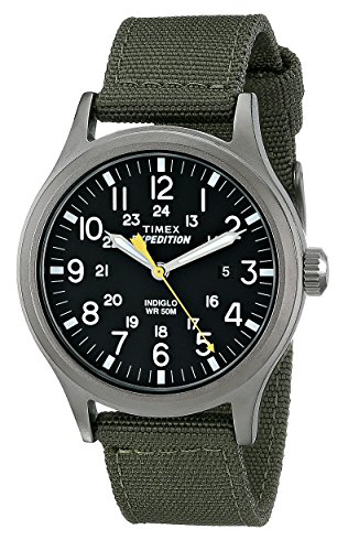 Timex Men's T49961 Expedition Scout Green Nylon S...