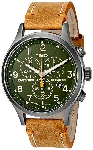 Timex Men's TW4B04400 Expedition Scout Chrono Tan...
