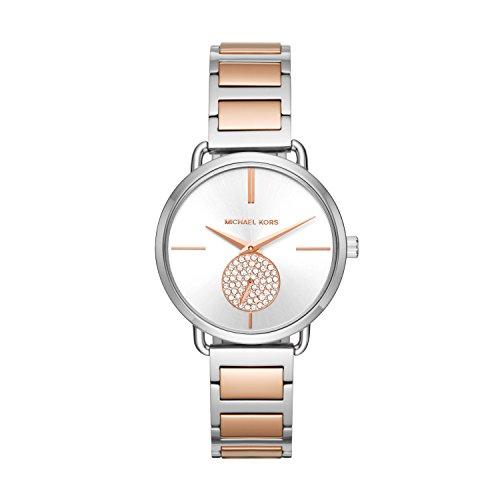 Michael Kors Women's Portia Quartz Watch with Sta...