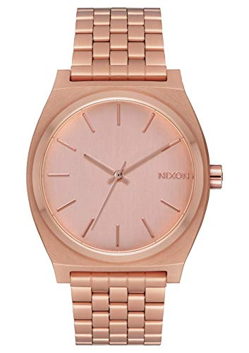 Nixon Time Teller All Rose Gold Women's Watch (37...